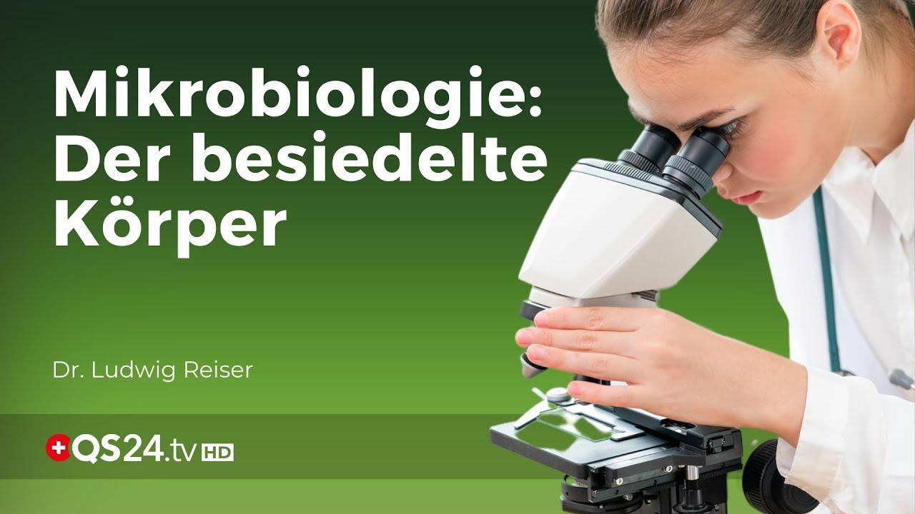 Mikrobiologie – der besiedelte Körper | Dr. Ludwig Reiser | NaturMEDIZIN | QS24 Gesundheitsfernsehen